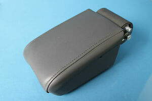 2003 Cadillac Cts 9 Front Center Console Lid Arm Rest Dark Grey