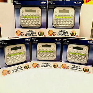 Brother P touch Pt d210 Label Maker Labeler Lot Of 5 New In Box Sealed