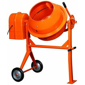 New Large Cement Concrete Stucco Mixer 1 2 Hp Nice L k