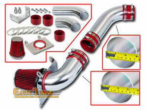 Cold Air Intake Kit Red Filter For 87 88 Ford Mustang Gt Lx 5 0l V8