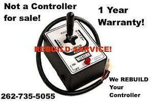 Rebuild Dont Repair Service Joystick Board Fisher Western Snow Plow Controller