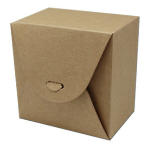 Brown Kraft Paper Box Gift Packaging Boxes For Candy Packing Wedding Party Favor