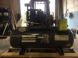 5 Hp Atlas Copco 80 Gallon Air Compressor