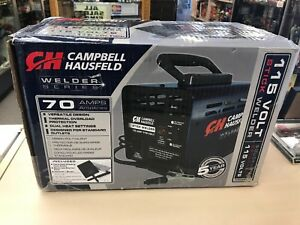 Campbell Hausfeld Stick Welder Machine Portable 115v Thermal Overload Protection