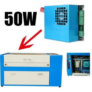 50w Power Supply For 50w 500 300mm Co2 Laser Engraving Cutting Engraver Machine