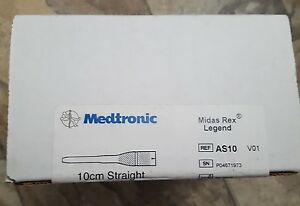 Medtronic Midas Rex As10 10cm Straight Attachment New