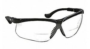Honeywell Uvex 4ucl7 Clear Bifocal Safety Reading Glasses 2 0 Diopter Qty 10