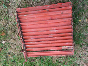 Allis Chalmers Wd 45 C B Ca Tractor Front Radiator Shutters Loovers