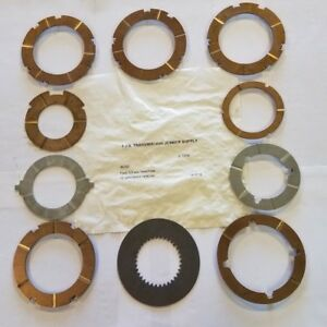 C6 C 6 Ford Transmission Thrust Washer Kit