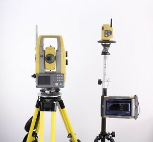 Topcon Ps 103a 3 Sec Robotic Total Station W Fc 5000 Magnet Field