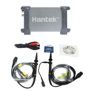 Hantek 6022be Pc based Usb Digital Storag Oscilloscope 48msa s 20mhz 2 Channels