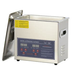 3l Commercial Benchtop Ultrasonic Cleaner For Cleaning Watch Glass Circuit Board