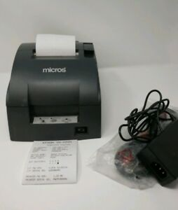 Mircros Branded Epson Tm u220b Kitchen Impact Dot Matrix Printer Ethernet