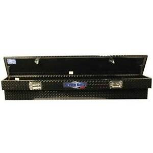 Better Built 79211762 Side Mount Truck Toolbox Black 72inlx11 5inwx11inh