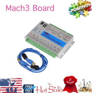 Mach3 4 Axis Breakout Board Cnc Usb Motion Control Card 2mhz Mk4 v Upgrade Usa