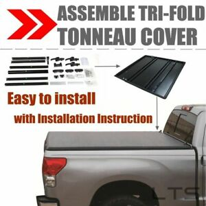 Assemble Lock Tri Fold Tonneau Cover For 1994 2002 Dodge Ram 2500 3500 6 5ft Bed