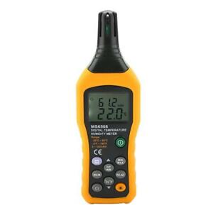 Ms6508 Wireless Lcd Digital Temperature Humidity Meter Hygrometer Thermometer