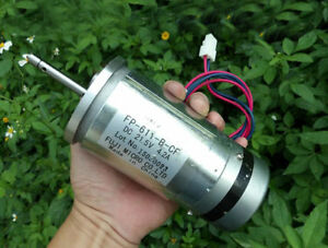 High Torque High Power Double Ball Bearing Dc24v 4600 Rpm Large Dc Motor Diy