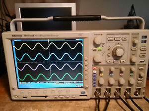 Tektronix Mso4054 500mhz 2 5gs s 4 Channel Mso Oscilloscope W p6516 Dig Probe