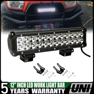 14inch 90w Cree Led Work Light Bar Spot Flood Combo Offroad Pickup Van Atv 12v