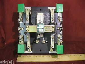 Asco Contactor Transfer Switch Relay 5444 4pdt 120v Coil 25a 600v Contacts