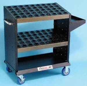 Huot Bt cat 40 Cnc Tools Heavy Duty Super Scoot tool Cart Holds 90 Toolholders