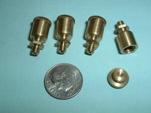 4 Model Hit And Miss Gas Or Steam Engine Brass Oil Cups 8 36 Mounting Thread