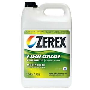 Zerex Original Green Antifreeze coolant Concentrated 1gal zx001