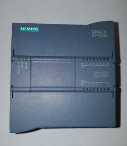 Preowned Siemens 6es7 212 1bd30 0xb0 Simatic Cpu S7 1212c Tested