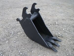 John Deere 50 60 Mini Excavator 12 Heavy Duty Tooth Trench Bucket Ship 149
