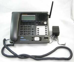 Panasonic Kx tg4000b 2 4ghz For 4 Lines Phone Base Tested