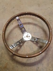15 Wood Steering Wheel Ford 1960 s Bronco Or Mustang