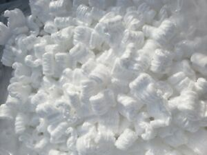 20 Cubic Feet White Packing Peanuts Shipping Anti Static Loose Fill 150 Gallons