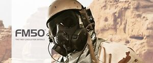 Avon Protection Fm50 Cbrn Apr System 71450 3 Apr Assembly Military Mask Small