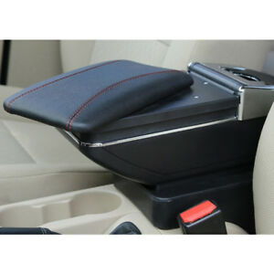 For Mazda 2 Armrest Console Armrest Storage Box Central Store Content Box
