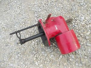 Massey Harris Pony Tractor Mh Power Take Off Pto Steel Belt Pulley Assembly