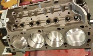 347ci Ford Short Block race Prep 500 hp Forged Trickflow Pistons Pump Gas