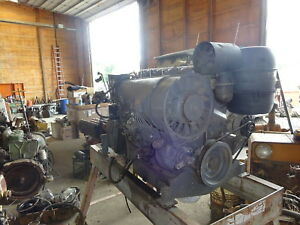 Deutz F5l912 Diesel Engine Power Unit Runs Mint Video 5 Cyl 912 Air Cooled
