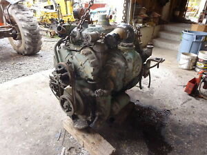 Detroit Diesel 4 71 Engine Late Model Runs Exc Video 471 Sawmill Pump