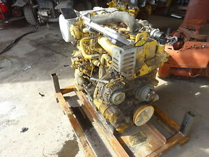Caterpillar C3 3b Turbo Diesel Engine Complete 246d Skid Steer Cat Kubota 3 3