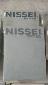 Nissei Molding Machine Manuals Nissei Maintenance Manuals