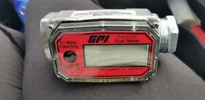 New Gpi Electronic Digital Fuel Meter 01a31gm New No Packaging Free Shipping