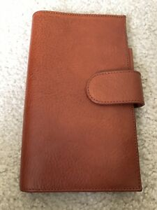Gillio Slim Appunto Epoca Leather Planner Cover