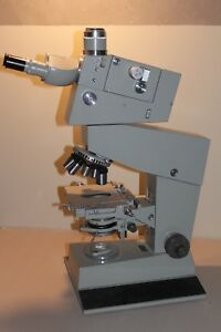Carl Zeiss Jena Interphako Peraval Microscope Dic Interference Contrast