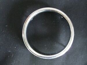 Very Nice 1953 1954 1955 1956 Ford Truck Radio Face Chrome Dial Ring 53 56