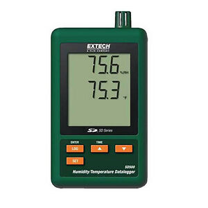 Extech Sd500 Humidity temperature Datalogger With Sd Card