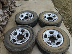 17 Dodge Ram 2500 3500 Factory Oem Chrome Clad Steel Wheel Rim