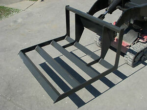 Toro Dingo Mini Skid Steer Attachment 48 Land Plane Carryall Level Ship 149