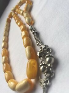 Antique Amber Kehribar Prayer Beads 30grams