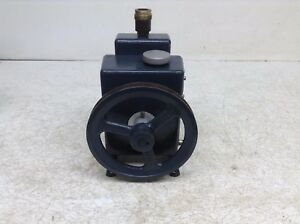 Welch Scientific R 1400 Belt Drive Duo seal Vacuum Pump R1400